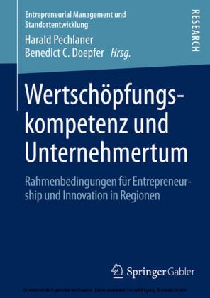 Wertschöpfungskompetenz und Unternehmertum