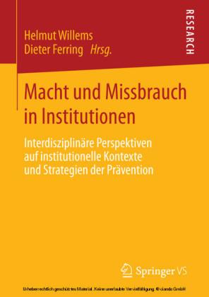 Macht und Missbrauch in Institutionen