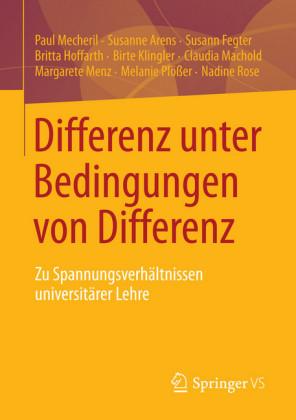 Differenz unter Bedingungen von Differenz
