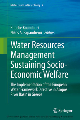 Water Resources Management Sustaining Socio-Economic Welfare