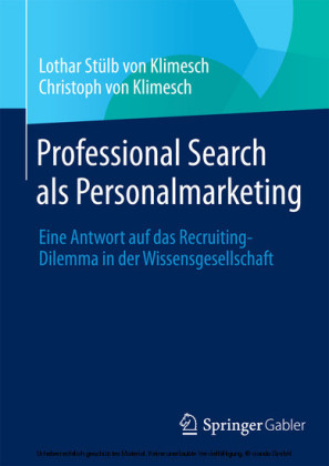 Professional Search als Personalmarketing