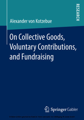 On Collective Goods, Voluntary Contributions, and Fundraising