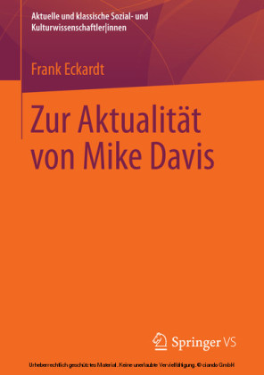 Zur Aktualität von Mike Davis