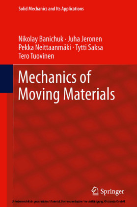 Mechanics of Moving Materials
