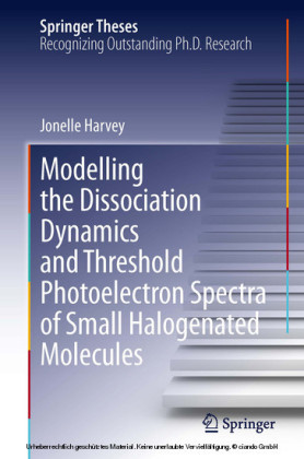 Modelling the Dissociation Dynamics and Threshold Photoelectron Spectra of Small Halogenated Molecules