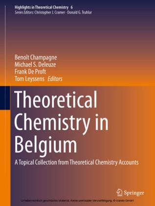 Theoretical Chemistry in Belgium