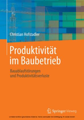 Produktivität im Baubetrieb
