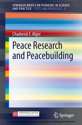 Peace Research and Peacebuilding