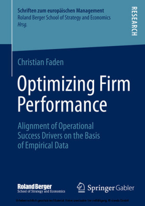 Optimizing Firm Performance