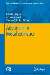 Advances in Metaheuristics