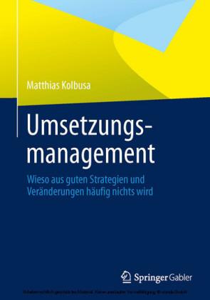Umsetzungsmanagement