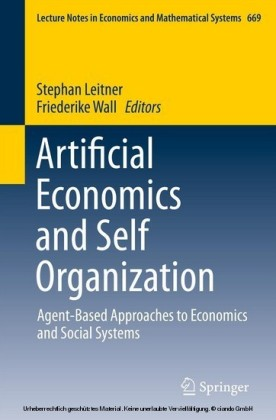 Artificial Economics and Self Organization