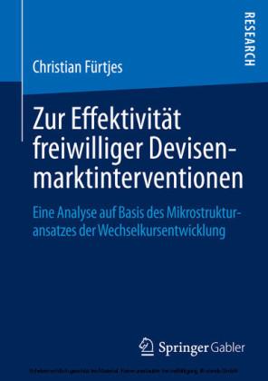 Zur Effektivität freiwilliger Devisenmarktinterventionen