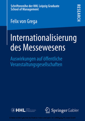 Internationalisierung des Messewesens