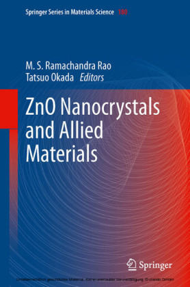 ZnO Nanocrystals and Allied Materials
