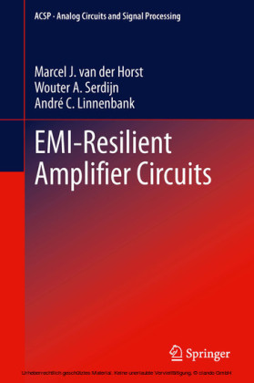 EMI-Resilient Amplifier Circuits