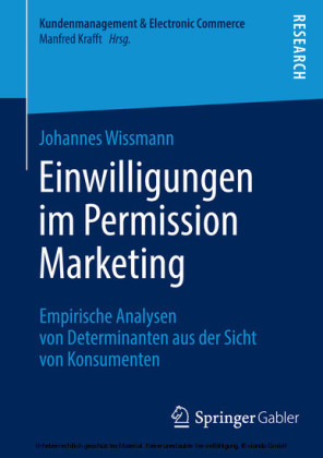 Einwilligungen im Permission Marketing