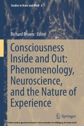 Consciousness Inside and Out: Phenomenology, Neuroscience, and the Nature of Experience