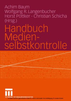 Handbuch Medienselbstkontrolle