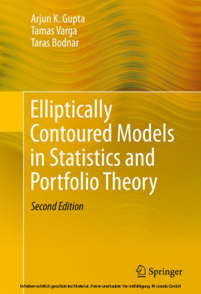 Elliptically Contoured Models in Statistics and Portfolio Theory