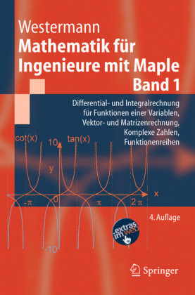 Mathematik für Ingenieure mit Maple.