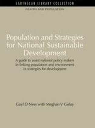 Population and Strategies for National Sustainable Development