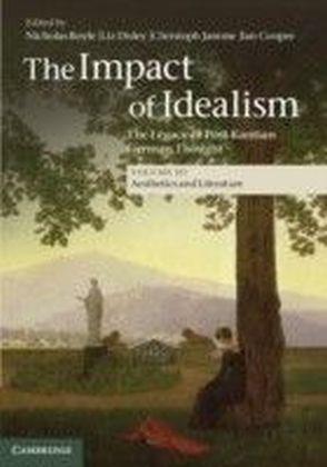 Impact of Idealism: Volume 3, Aesthetics and Literature