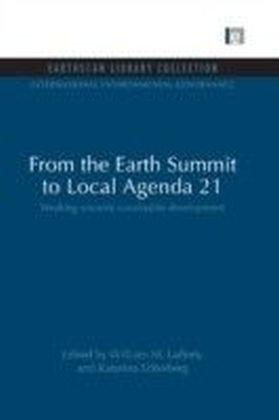 From the Earth Summit to Local Agenda 21