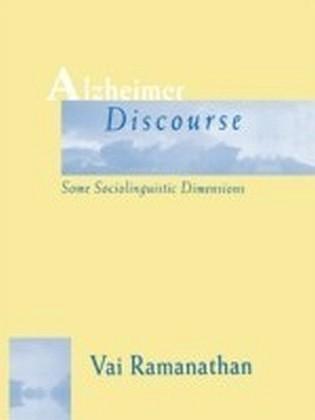 Alzheimer Discourse