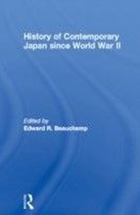 History of Contemporary Japan since World War II