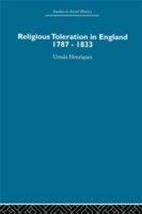 Religious Toleration in England