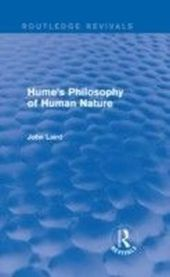 Hume's Philosophy of Human Nature (Routledge Revivals)
