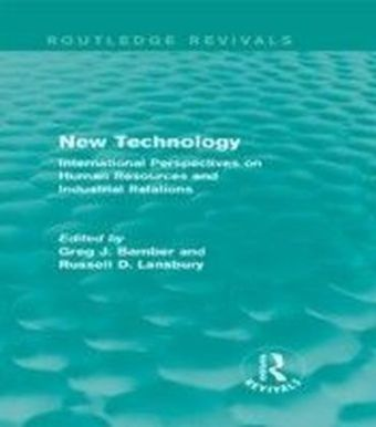 New Technology (Routledge Revivals)