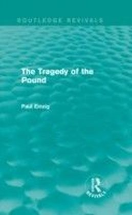 Tragedy of the Pound (Routledge Revivals)