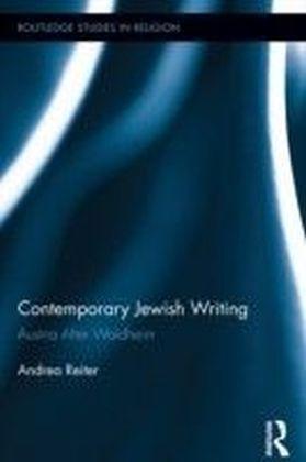 Contemporary Jewish Writing