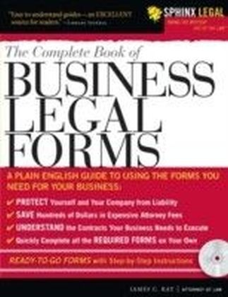 Complete Book of Business Legal Forms