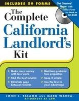 Complete California Landlord's Kit