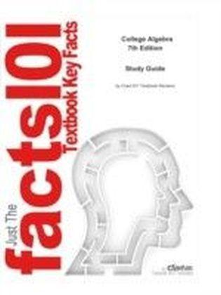 e-Study Guide for: College Algebra by Larson, ISBN 9780618643103