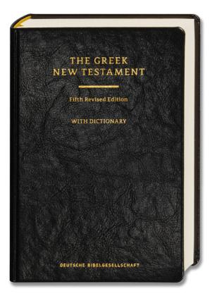 The Greek New Testament, m. griechisch-englischem Wörterbuch, schwarzer Einband