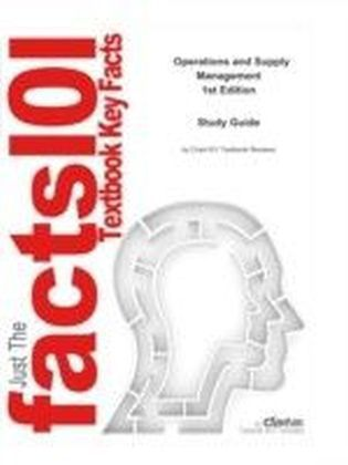 e-Study Guide for: Operations and Supply Management by Jacobs & Chase, ISBN 9780073294735