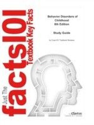 e-Study Guide for: Behavior Disorders of Childhood by Wicks-Nelson & Israel, ISBN 9780131539082