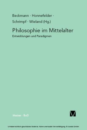 Philosophie im Mittelalter