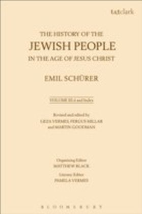 History of the Jewish People in the Age of Jesus Christ: Volume 3.ii and Index
