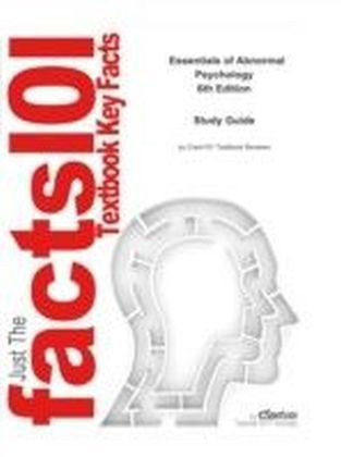 e-Study Guide for: Essentials of Abnormal Psychology by V. Mark Durand, ISBN 9781111837297