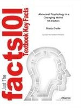 e-Study Guide for: Abnormal Psychology in a Changing World by Nevid, ISBN 9780135128978