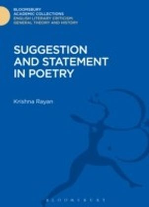 Suggestion and Statement in Poetry