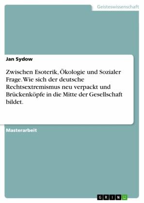 Zwischen Esoterik, Ökologie und Sozialer Frage. Wie sich der deutsche Rechtsextremismus neu verpackt und Brückenköpfe in die Mitte der Gesellschaft bildet.