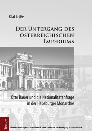 Der Untergang des österreichischen Imperiums