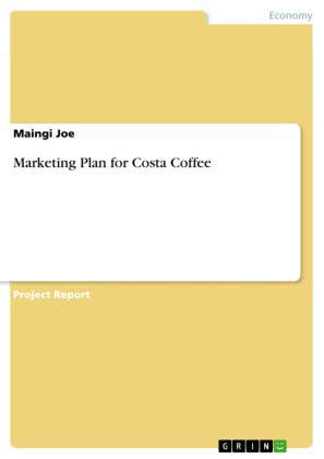 Marketing Plan for Costa Coffee