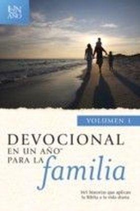 Devocional en un ano para la familia volumen 1